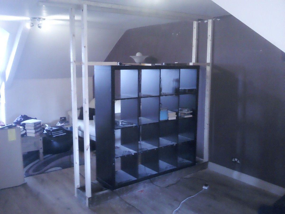Room divider ikea expedit - Expedit Built In Room Divider Ikea Hackers