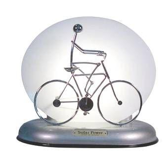 Solar Motion Bicycle Rider