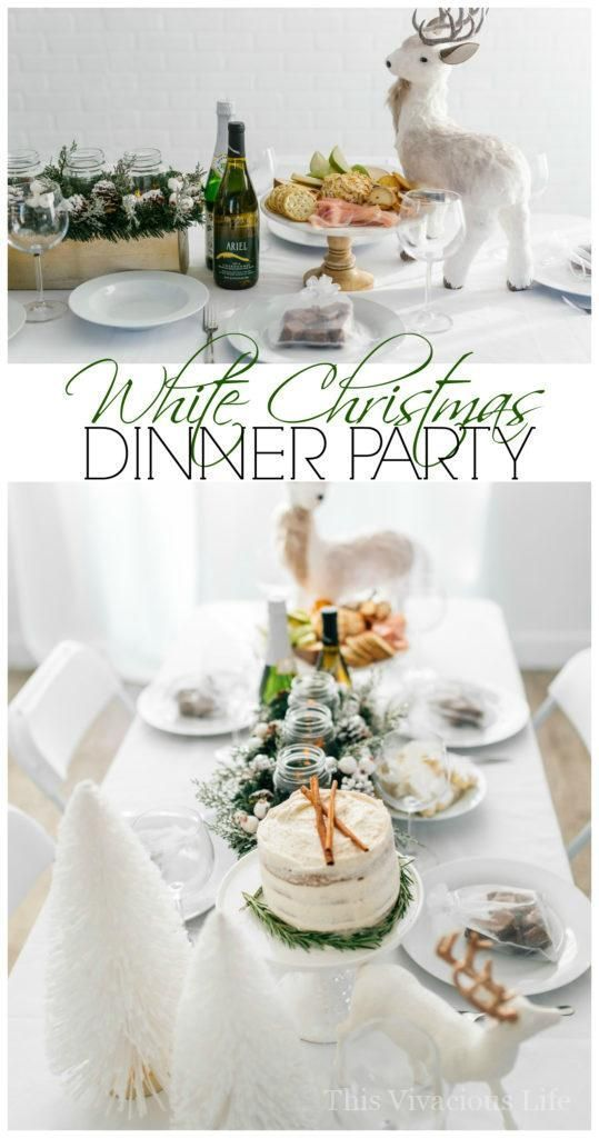 Gluten Free Dinner Party Ideas Part - 37: You Guys Are Going To Love This White Christmas Dinner Party And Gluten-free  Eggnog