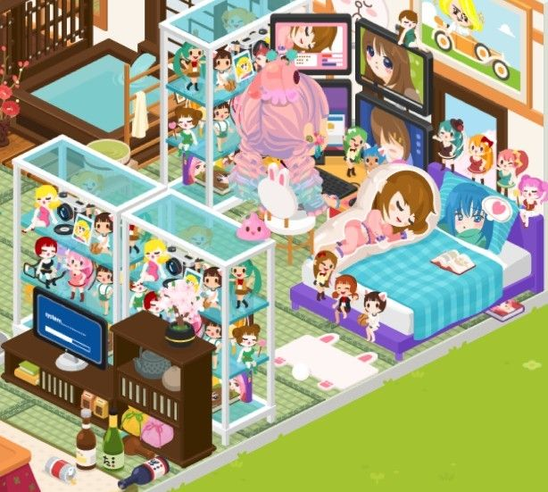 Design Your Character And Play : Harajuku girls the avatar app gaming and game