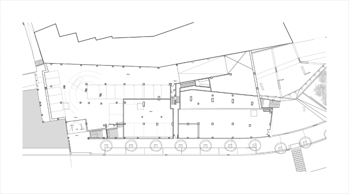 Ground floor. Housing and urban development project. By Pich-Aguilera Arquitectes.