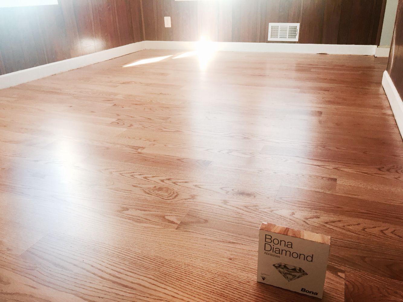 5 Red Oak Finished With Duraseal Golden Oak Pallmann X Color Sealer And 2coats Of Pallmann X96 Matte Finish Flooring Projects Hardwood Floors Red Oak