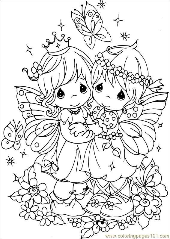 Elegant Precious Moments Coloring Pages   Bing Images