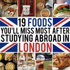 19 Foods You'll Miss Most After Studying Abroad In London- very very true. All I want in the world right now is my favorite sandwich from pret or some peri-peri chicken from nandos