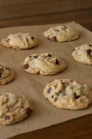 Bakery Style Chocolate Chip Cookies The Little Vintage