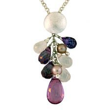 Drop Multi-Colored Pendant.