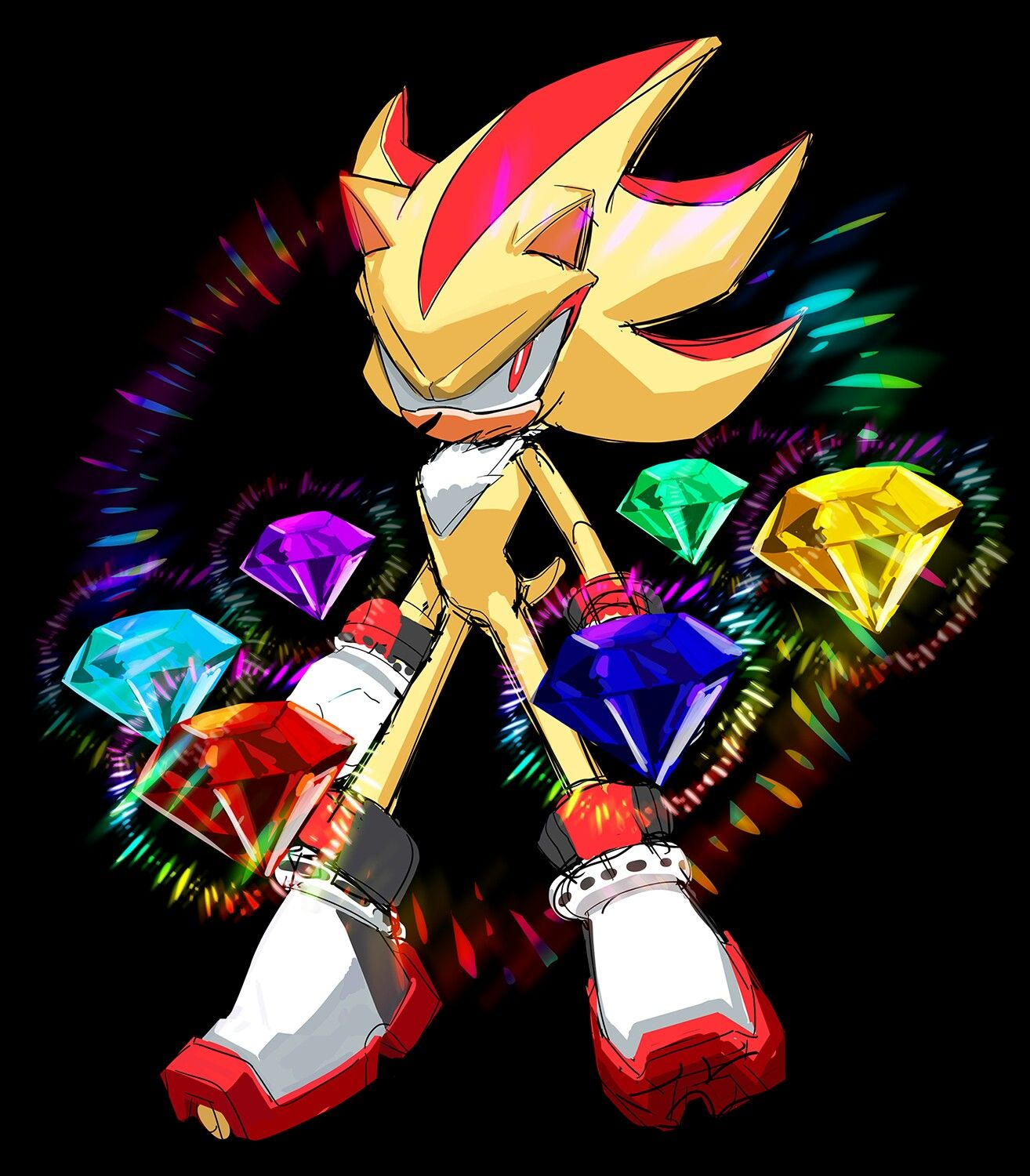 SOL on | Super shadow, Sonic and shadow, Shadow the hedgehog