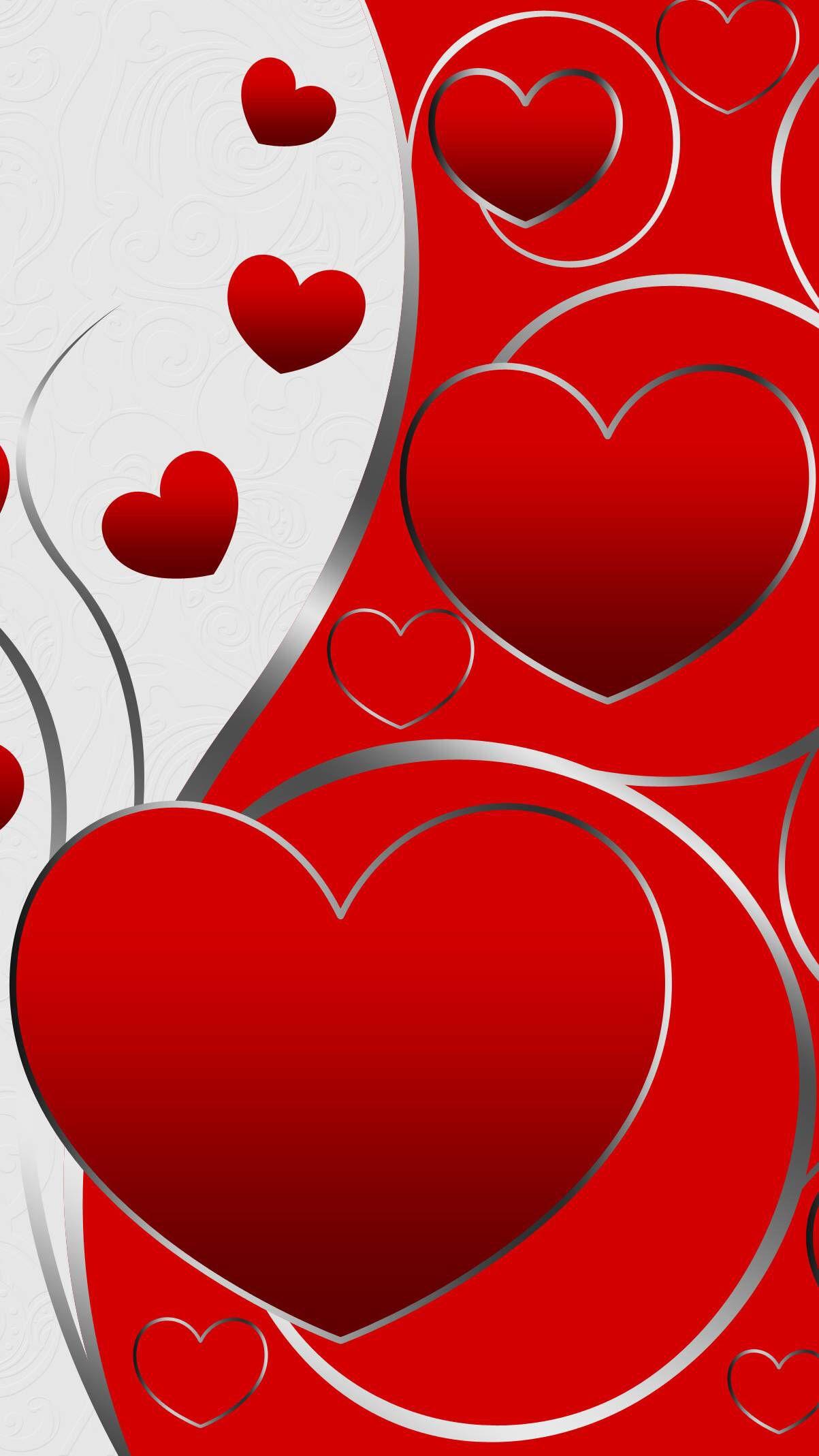 Happy Valentines Day | Coeur en papier, Fond d'écran téléphone, Image coeur