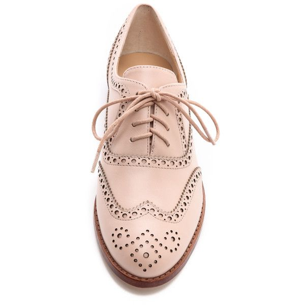 Kate Spade New York Pella Oxfords - Petal Pink found on Polyvore