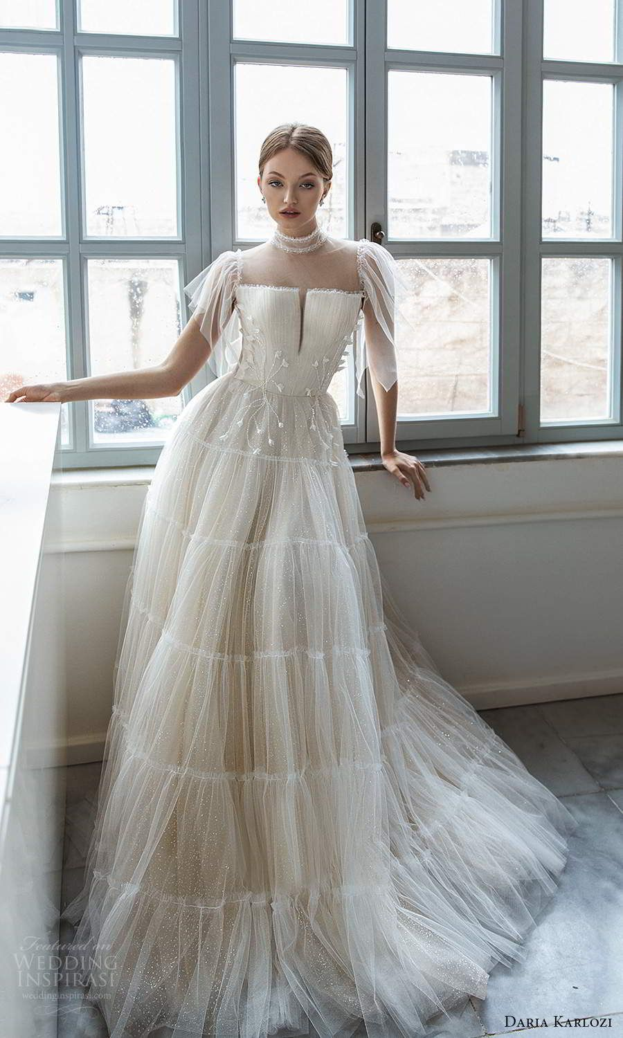 "Daria Karlozi 2021 Wedding Dresses — ""Sunlight"" Bridal"