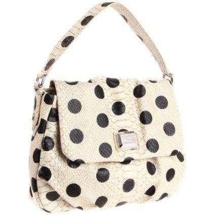 Marc by Marc Jacobs D5 Dotty Lil Ukita Shoulder Bag,Linen Dot Multi,One Size