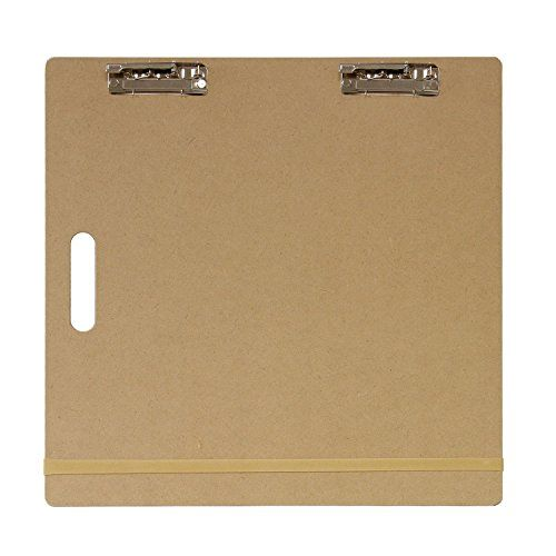 "US Art Supply® Artist Sketch Tote Board - Great for Classroom, Studio or Field Use (18""x18"")"