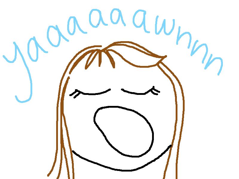 Yawning Cartoon Image  Yawn Cartoon  Aaaah  Pinterest