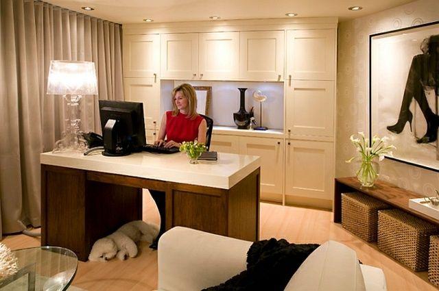 Transformez votre sous sol en un bureau à domicile chic bureau