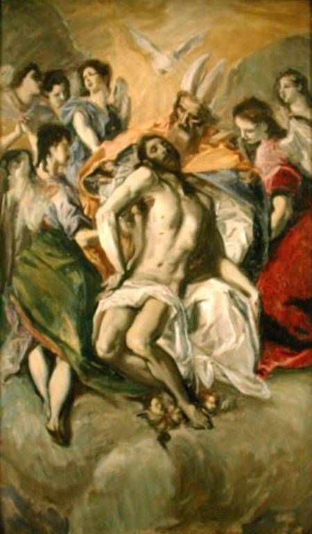 John Singer Sargent - The Descent from the Cross, after El Greco