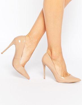 61ffba864d6 Zapatos de salón de tacón en cuero rosa claro Stessy de ALDO