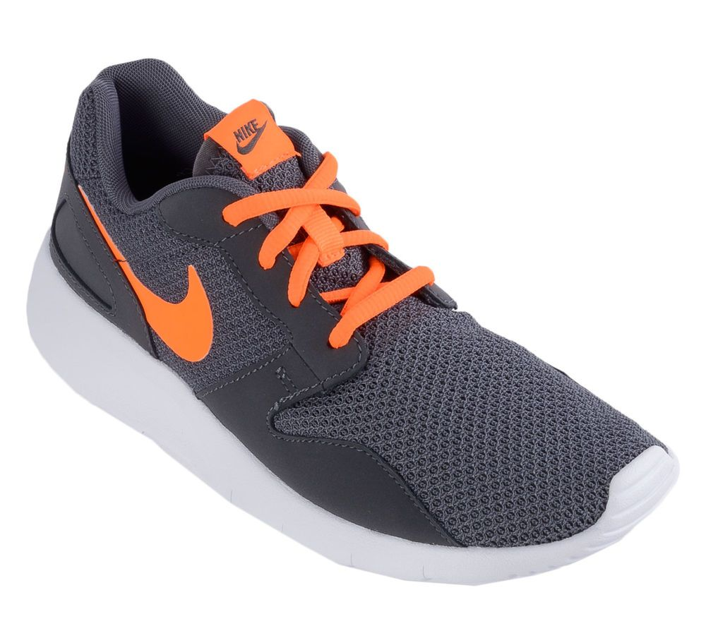 best service b7ab0 7fe71 NEW NIKE KAISHI Dark Grey Total ORANGE Running Womens 8.5 (7Y) NIB  Nike   Running