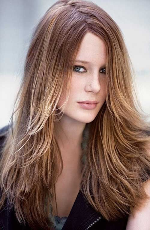 Long Hairstyles For Round Faces 20 Good Long Hairstyles Round Face  Hairstyles & Haircuts 2014