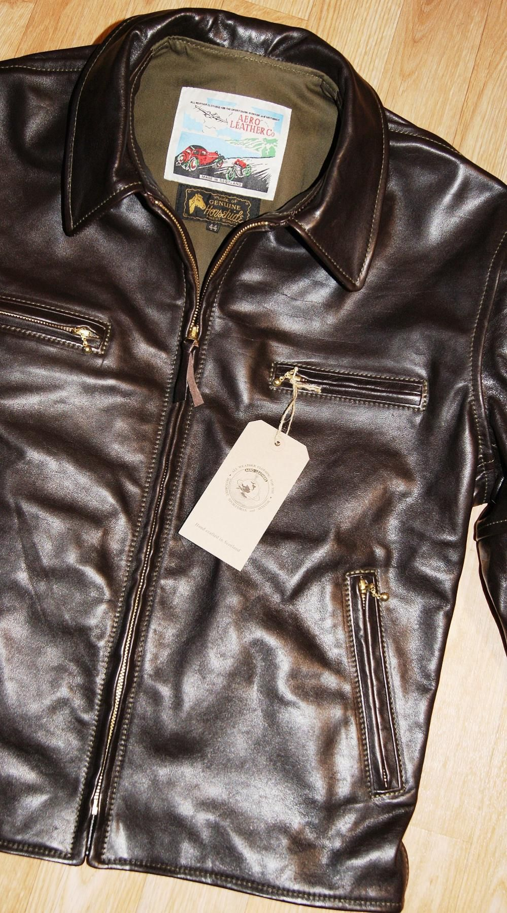 Insurrection Thurston Italian Full Grain Veg Tanned Horsehide For Aero Jackets Page 31 Leather Jacket Men Leather Jacket Men Style Leather Jacket Style [ 1798 x 999 Pixel ]