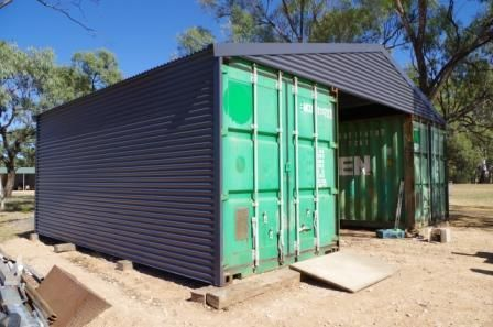 Shipping Container Shed 20 Foot Diy Built Shipping Container Sheds Building A Container Home Shipping Container