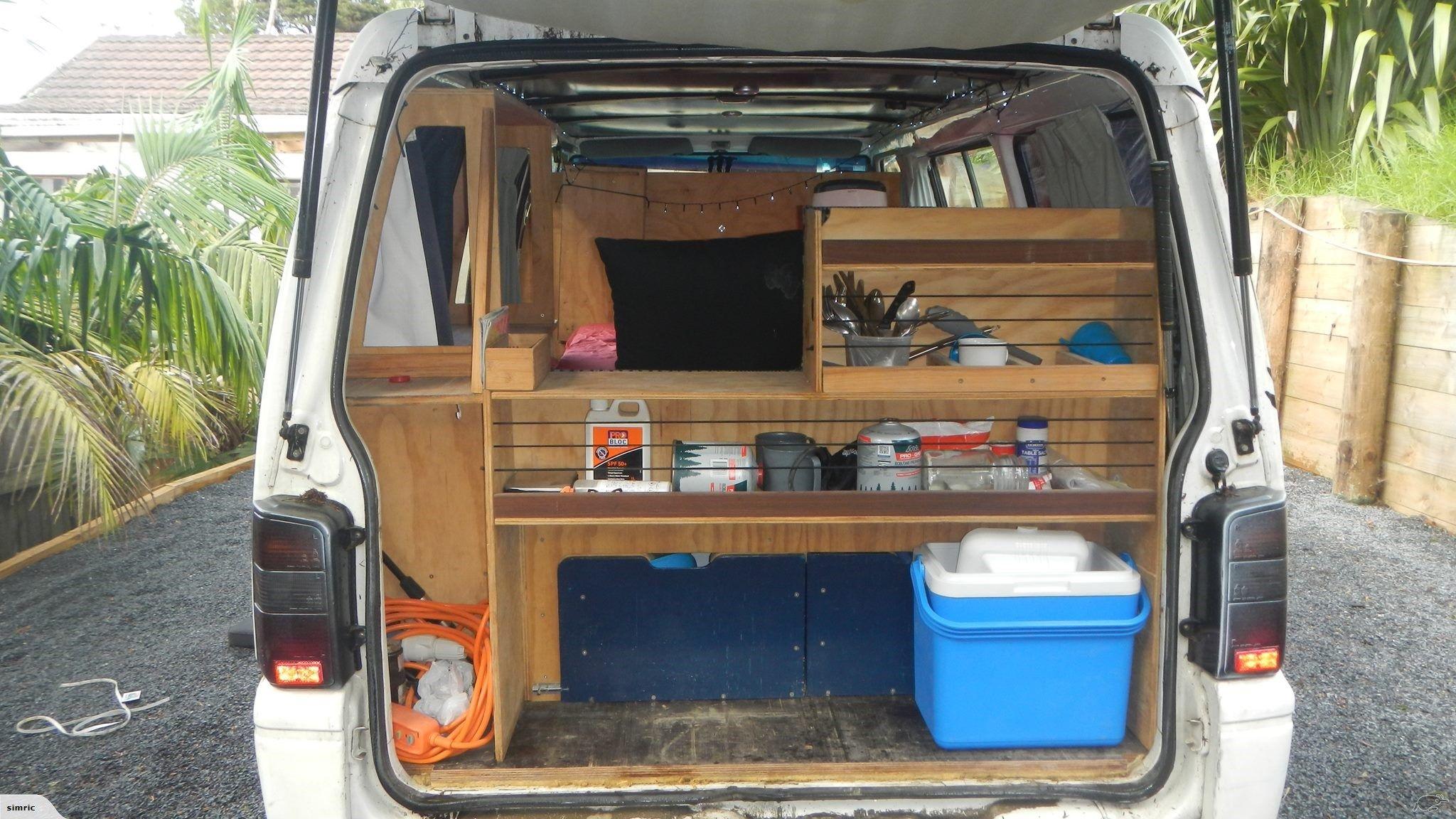 Campervan, Mitsubishi L8, camper van, motorhome.  Trade Me