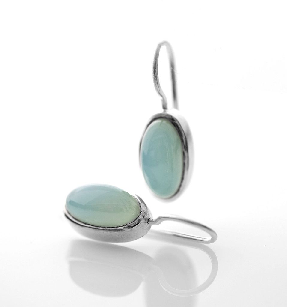 38KM001 in silver and green onyx (as the picture) | Mitos