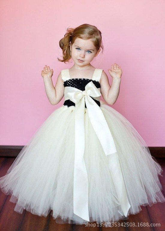 163a50f01 Vestido de princesa con tul para niña | Girl Dress | Vestidos ...