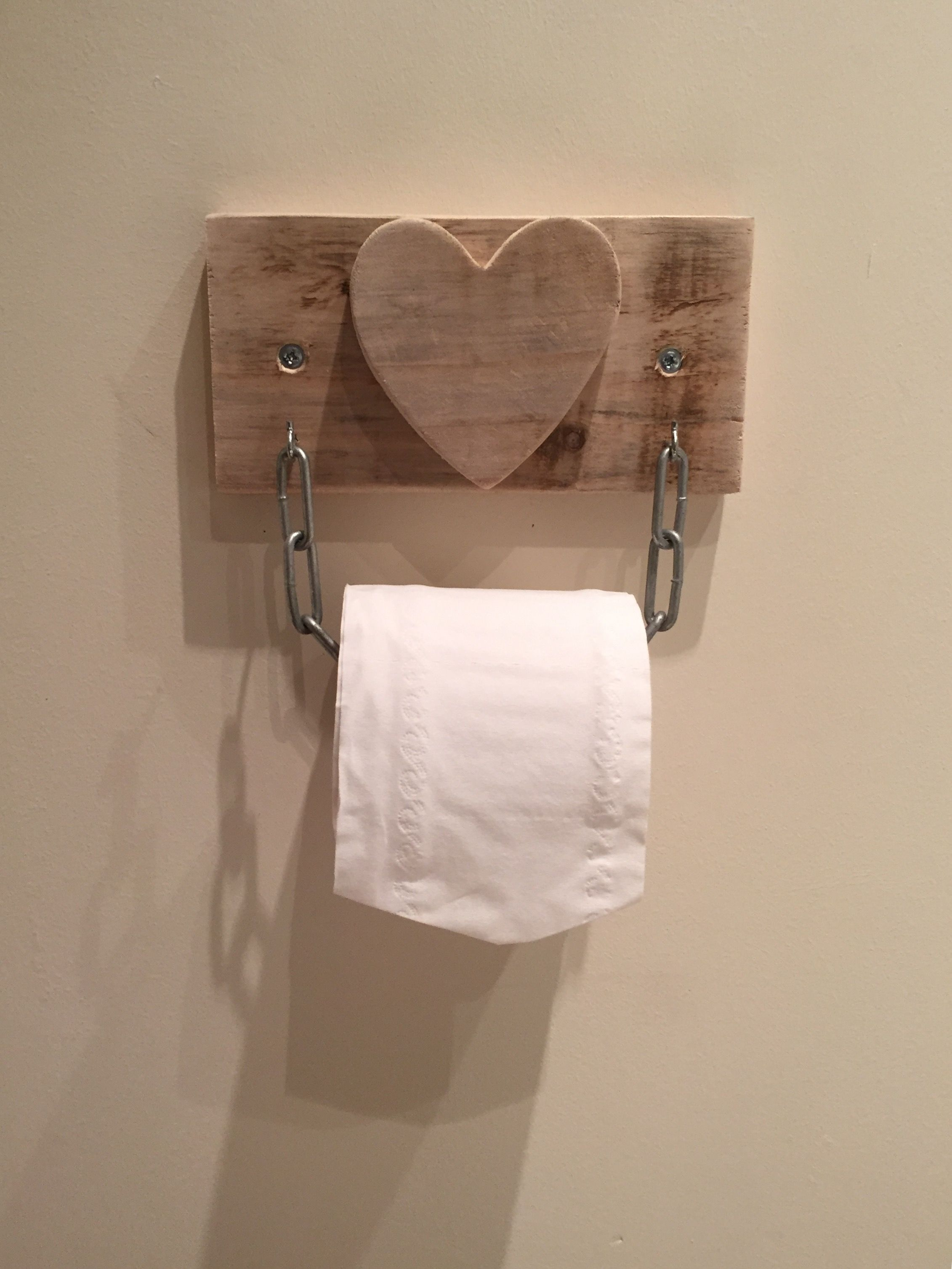 Wood Toilet Roll Holder Toilet Roll Holder Pallet Wood Up Cycled Reclaimed