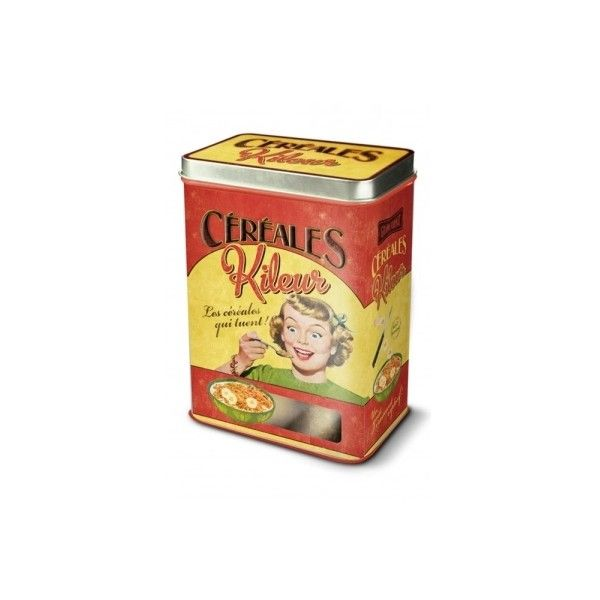 Cereales Kileur Cereal Metal Storage Tin (63 CNY) ? liked on Polyvore featuring home  sc 1 st  Pinterest & Cereales Kileur Cereal Metal Storage Tin (63 CNY) ? liked on ...