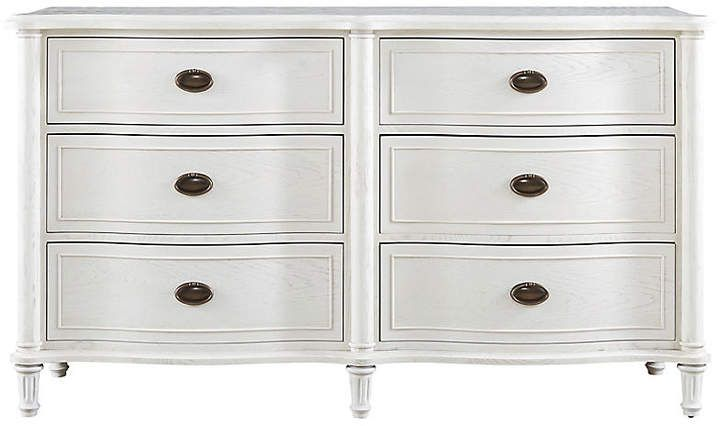 One Kings Lane Hallie 64 Dresser - White Products in 2018 - Lane Bedroom Furniture
