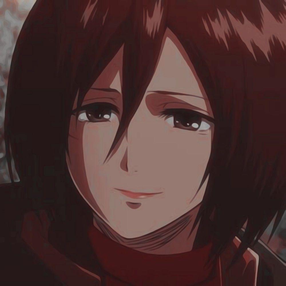 Mikasa Ackerman Icon In 2020 Attack On Titan Anime Attack On Titan Art Mikasa