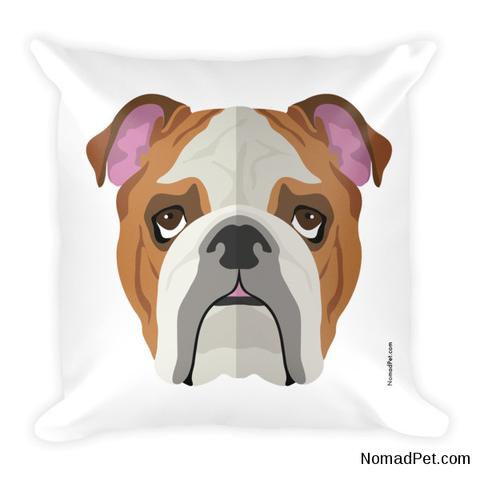 Bailey : Bulldog Pillow Dog Breed Home Decor | moyo | Pinterest