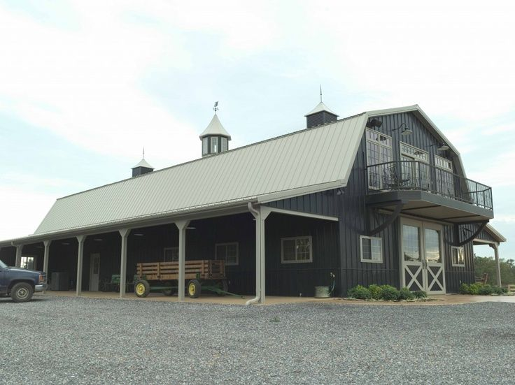 Delightful Horse Barns With Living Quarters | Morton Buildings Horse Barn In Kentucky.