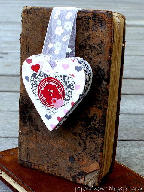 Valentine's Bookmark Album with Echo Park