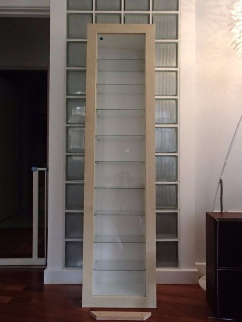 Best Ikea Bertby Wall Mounted Glass Fronted Display Cabinet 400 x 300
