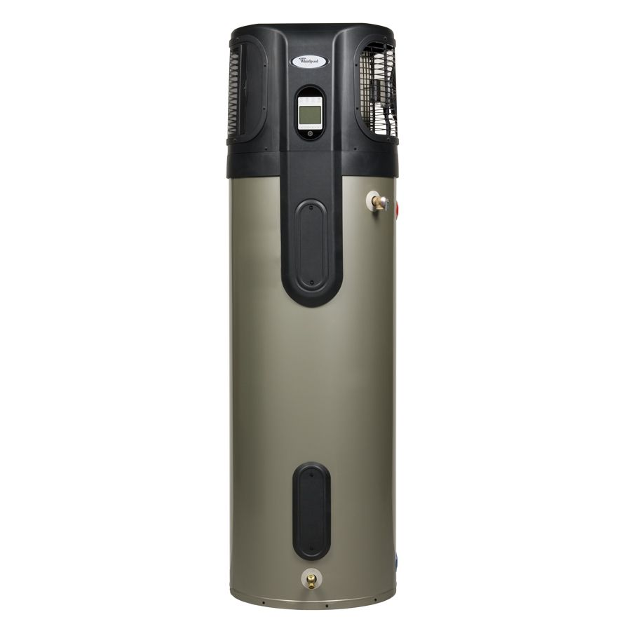 Shop Whirlpool 80 Gallon 120 Month Hybrid Heat Pump Water Heater Energy Star At Lowes Com Water Heater Lowes Home Improvements Hot Water Heater
