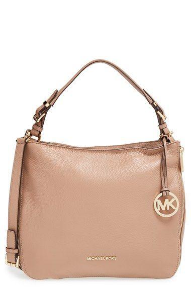 7804a128dc5624 MICHAEL Michael Kors 'Large Essex' Leather Shoulder Bag available at  #Nordstrom