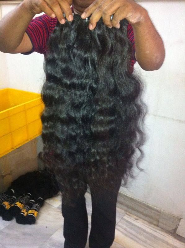 Raw Unprocessed Natural Indian Virgin Human Hair Straight Indian