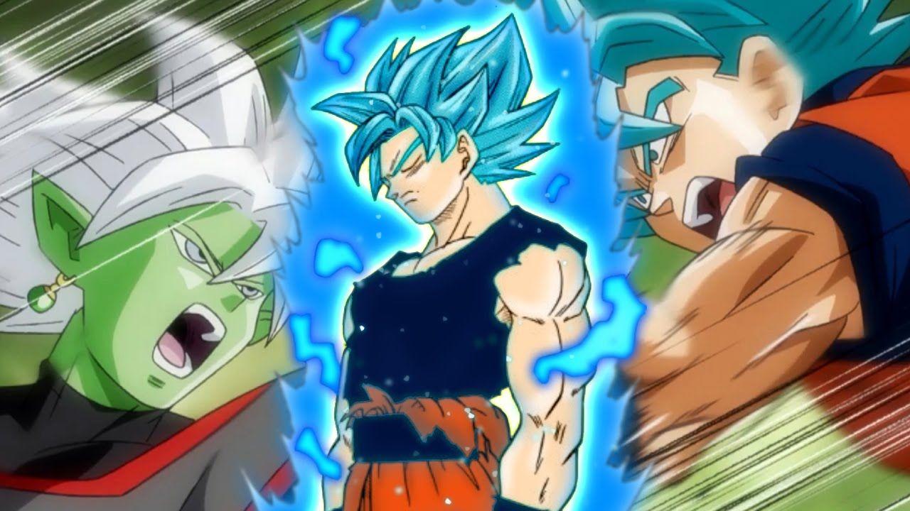 Mastered Super Saiyan Blue Goku VS Fusion Zamasu EXPLAINED  anime