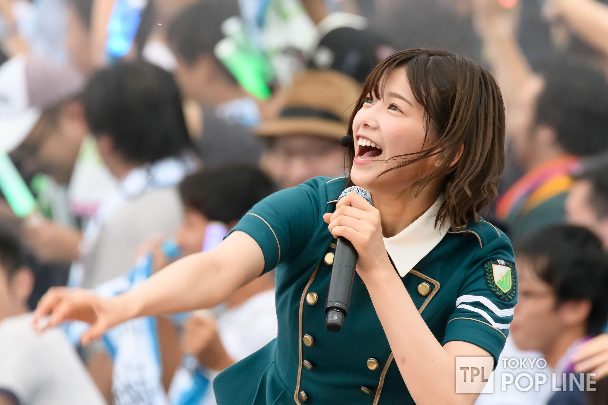 欅坂46が富士急ハイランドで初の野外ワンマン 「危なっかしい