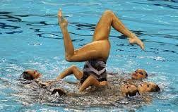 Resultado de imagem para natação sincronizada
