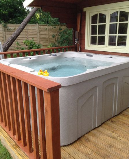 The Monterey Part Of The Freeflow Hot Tubs Range Hotspring