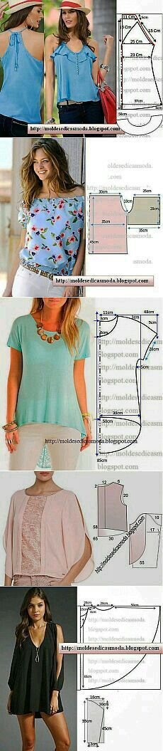 Pin by SUSY BARBOSA on SWEET SUSY FASHION   Pinterest   Patterns ...