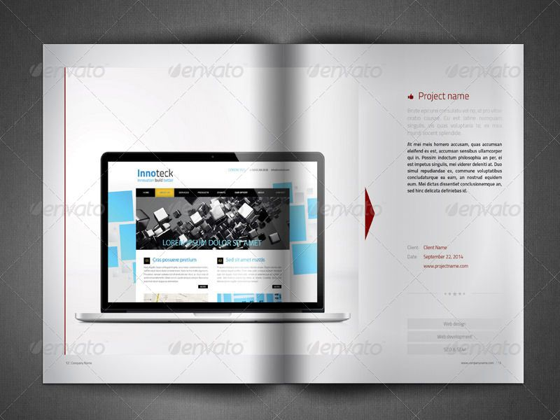 Business Brochure - Company Profile catalogue Pinterest