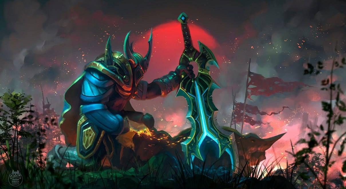 Wraith King Dota 2 Hd Wallpaper Defense Of The Ancients Dota 2 Wallpaper Rogue Knight