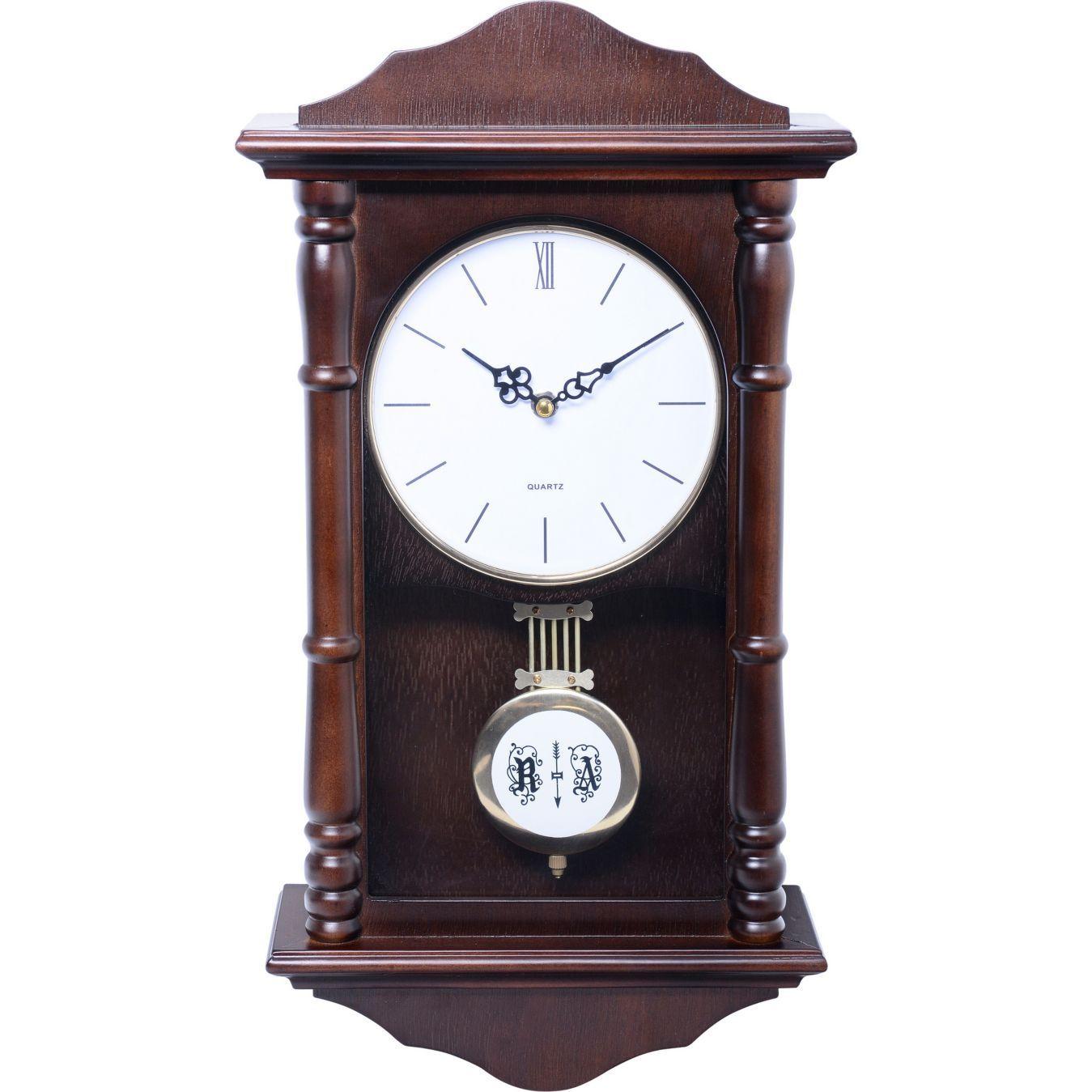 Homy Reloj P Ndulo 46 Cm Caf Bienvenido Bajos Y Reloj # Muebles Metinca