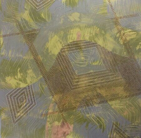 Malu 2015 122 5 X 122cm Art Art Works Dots Art
