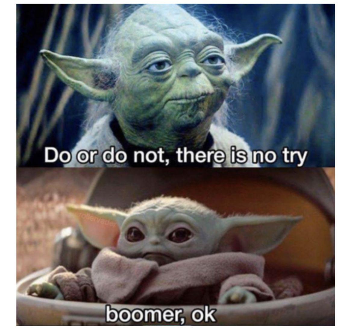 Pin By Serena Flores On Haha Star Wars Memes Yoda Meme Funny Memes