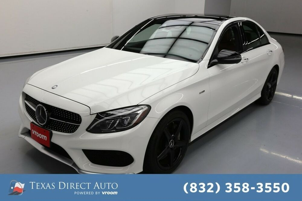 For Sale 2016 Mercedes Benz C Class C 450 Amg Texas Direct Auto 2016 C 450 Amg Used Turbo 3l V6 24v Automa Ford Mustang Ecoboost Ford Mustang Mustang Ecoboost