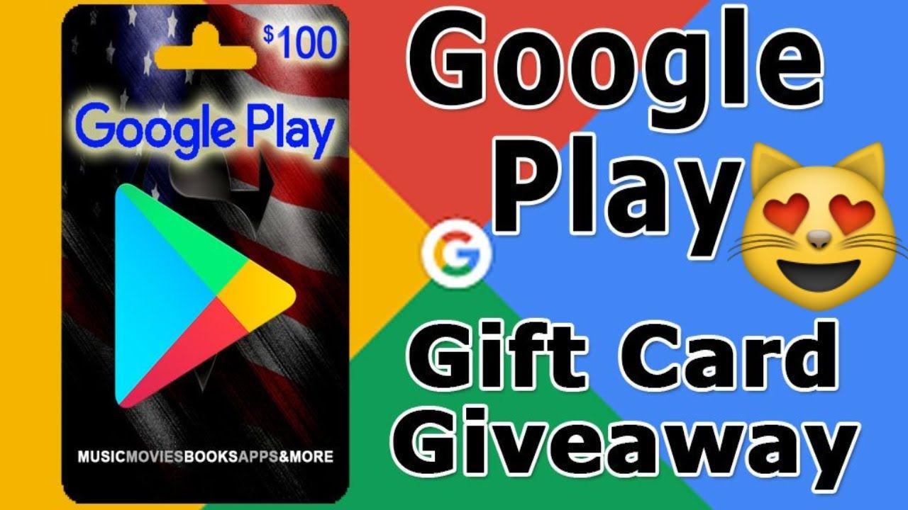 Google Play Gift Card Giveaway Free Google Play Gift Card Google Play Gift Card Gift Card Giveaway Google Play